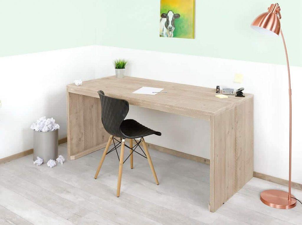bureau steigerhout maken
