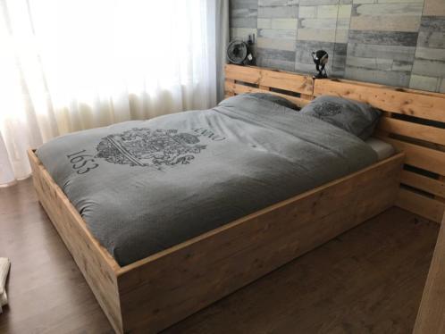 Bekend Steigerhouten bed maken is simpel voor iedereen! - Maken van @FK91