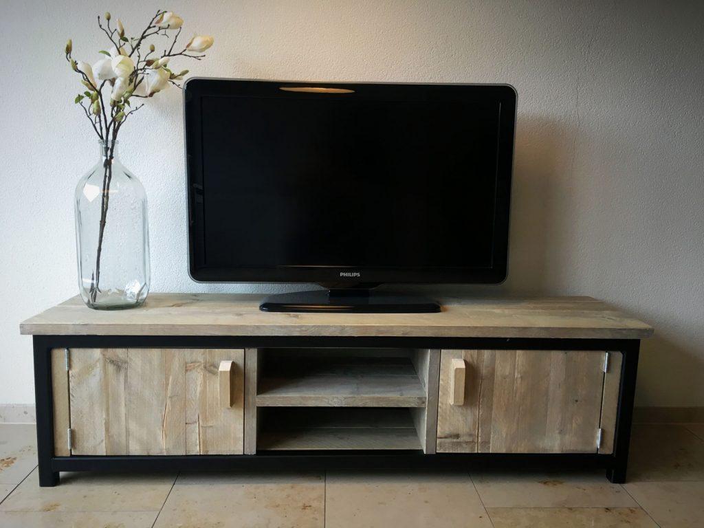 tv meubel steigerhout maken